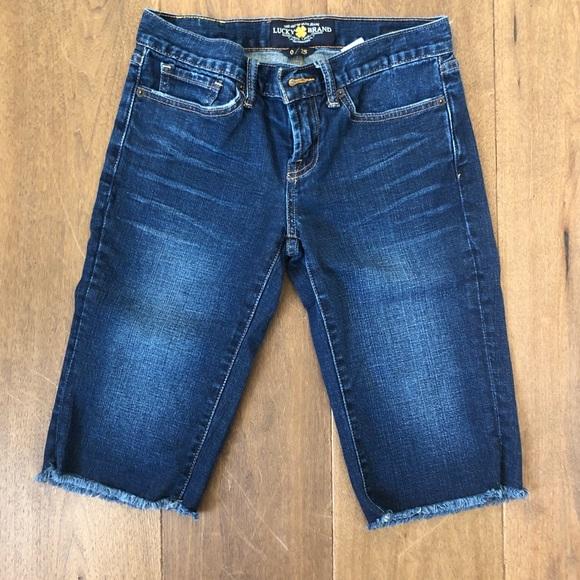 Lucky Brand Pants - Lucky Brand Abbey Bermuda Shorts!!